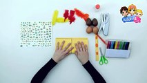 How to Make Easter Basket - Kids Craft