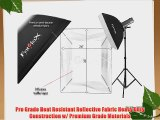 Fotodiox Pro 24x36 Softbox for Studio Strobe/Flash with Soft Diffuser and Universal Speedring