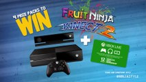 Fruit Ninja Kinect 2 - What is your Ninja Style Trailer | Official Xbox One Game (2015)