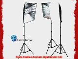 Limo studio 2400 Watt Photography Studio Softbox Continuous Lighting Light Kit with 12 Daylight
