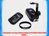 Eggsnow VILTROX 16 Channels Wireless Remote Flash Trigger Dual Flash Umbrella Support for Sony