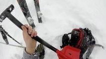 Un skieur sort indemne d'une avalanche (Alpes suisses)