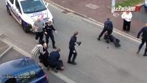 L'intervention musclée des policiers à St-Germain-en-Laye
