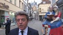 Élections régionales 2015 : Alain Joyandet sillonne la Bourgogne et la Franche-Comté