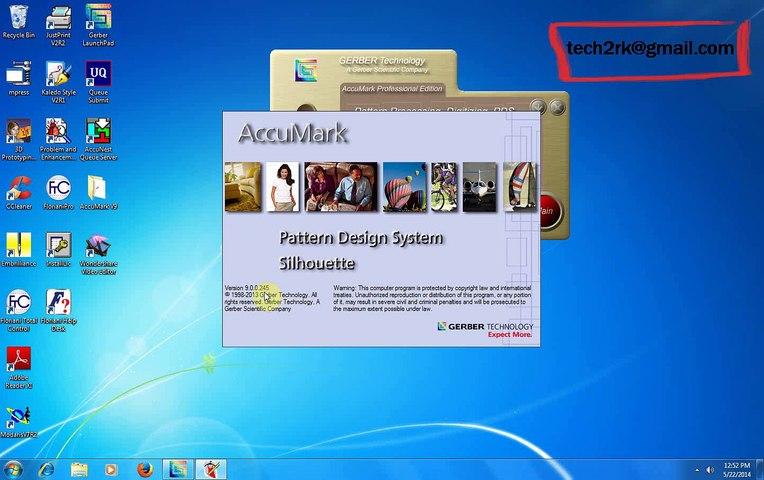 Gerber Accumark 9 0 windows 64