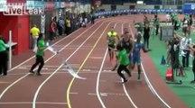 400m: Une femme se fait violemment percuter à l'arrivée d'une course