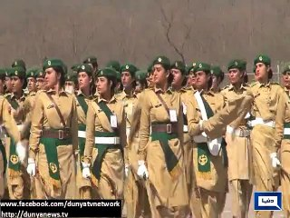 Armed force started rehearsal in ful dress for 23rd March