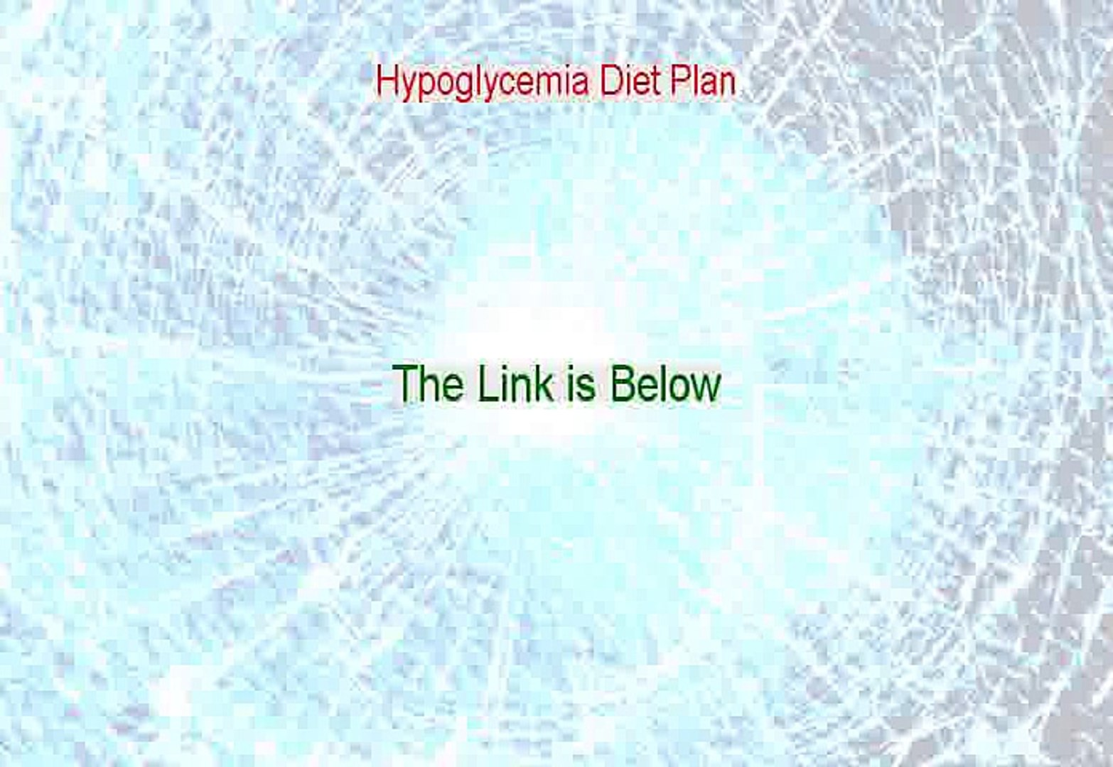 Hypoglycemia Diet Plan Free PDF - hypoglycemia diet plan without diabetes 2015