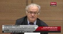 Audition d'Alain-Gérard Slama, journaliste, professeur à Sciences-Po - Audition