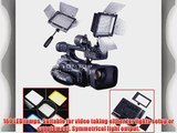 Andoer YONGNUO YN-160 160 LED Video Light with Filters for Camera/Camcorder