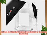 Fotodiox Pro 32x48 Softbox for Studio Strobe/Flash with Soft Diffuser and Universal Speedring