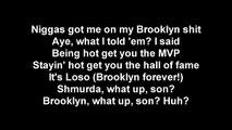 Bobby Shmurda Hot Nigga Remix Onscreen Lyrics Ft fabulous, busta rhymes and more