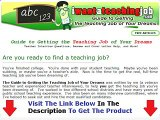 I Want A Teaching Job WHY YOU MUST WATCH NOW! Bonus + Discount