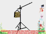 CowboyStudio Photography Video Studio Premium Pro Boom Set W501 with Light Stand Boom and Weight