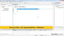 5-4. Creating reusable code with methods - Java Classes Part 27