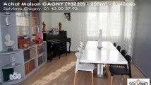 A vendre - maison - GAGNY (93220) - 8 pièces - 205m²
