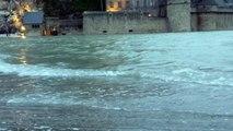 Marée du siècle au Mont-Saint-Michel