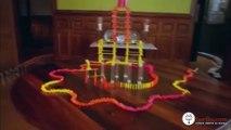 Domino taşı Devirme Rekoru 3.847.295 Adet Domino taşı kullanılarak yapılmış