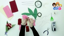 كيفيّة القيام بباقة من الأزهار من الورق