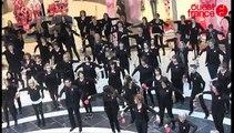 flashmob au Printemps de Rennes Alma