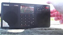 FM radio band scan DX at Walton On The Naze Essex Clacton with lots of Dutch stations Part 2