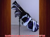 Petite Womens Complete Golf Clubs Set Custom Made for Ladies 5055 Tall Taylor Fit Driver Wood Hybrid Irons Putter Bag La