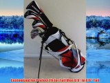Tall Mens Golf Set Taylor Fit Complete Driver Fairway Wood Hybrid Irons Putter Stand Bag Custom Made Clubs 1 Length Firm