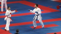 50. Avrupa Karate Şampiyonası'nın İkinci Gün Seansları Devam Ediyor