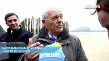 Marée du siècle : l'appel à la prudence du maire de Saint-Malo