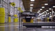 VIDEO - Amazon obtient une licence pour tester la livraison par drone