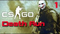 Funny Gaming Videos - Counter Strike  GO - Mini Game 1 Death Run Minecraft