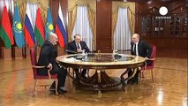 """Poutine : """"nous espérons que Kiev suivra les accords de Minsk"""""""
