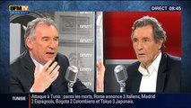 François Bayrou, invité de Bourdin Direct sur BFMTV - 190315