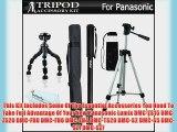 Tripod accessory Bundle Kit For Panasonic Lumix DMC-ZS15 DMC-ZS20 DMC-FH8 DMC-FH6 DMC-FH4 DMC-TS20
