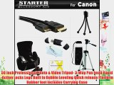 Starter Accessories Kit For Canon PowerShot SX40 HS SX40HS G1 X G1X SX530 HS SX50 HS SX50HS