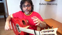 Knowing what you don't want and be sure of HOW to practice flamenco guitar is essential /Ruben Diaz Teaching Paco de Lucia´s Technique and Style on Skype / LearningContemporary Flamenco Online