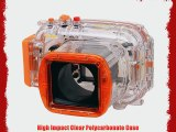 Polaroid Dive Rated Waterproof Underwater Housing Case For Nikon J1 Digital Camera WITH A 10-30mm