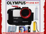 Olympus Underwater Housing PT-048 for the Olympus Stylus Tough 6020 and 8010   Underwater Accessory