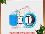 Polaroid Dive Rated Waterproof Underwater Housing Case For Sony Alpha NEX-5 Digital Camera