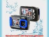 Silicon Valley Imaging Corp 8800-BU Waterproof 20MP Waterproof ACQUA 8800 Shockproof UnderWater