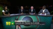 Wahab Riaz fight with Shane Watson  Australia vs Pakistan Highlights QuarterFinal Watch HD