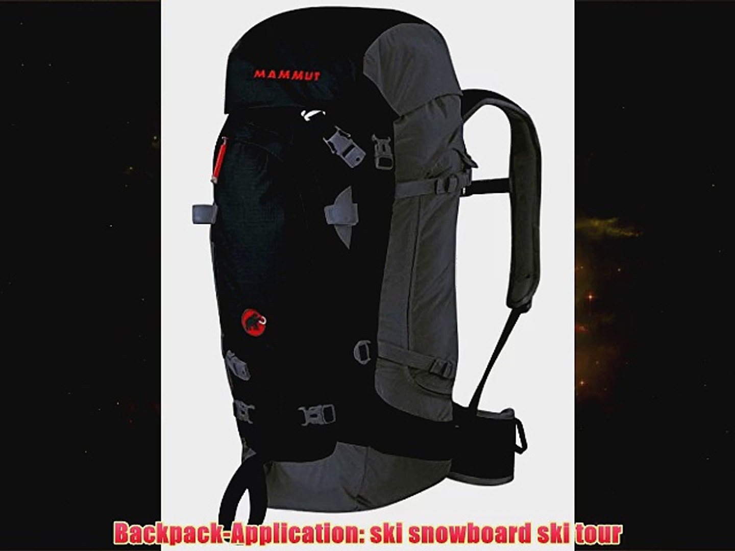 pretty cool wholesale outlet release info on Mammut Spindrift Guide 35 35 blacksmoke blackgrey - video ...