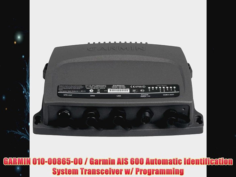 GARMIN 0100086500 Garmin AIS 600 Automatic Identification System  Transceiver w Programming