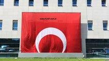Türkiye Büyük Millet Meclisi Otomatik Motorlu bayrak poster sistemi