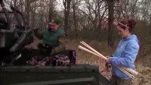 Awesome Whitetail Bowhunting Video! Wisconsin Buck goes down!