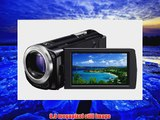 Sony HDRCX260V High Definition Handycam 89 MP Camcorder with 30x Optical Zoom and 16 GB Embedded Memory Black 2012 Model