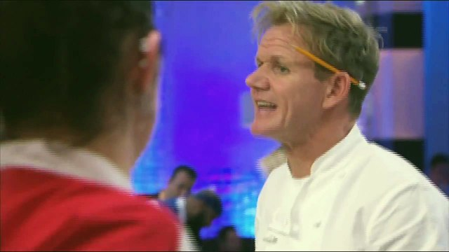 HELL'S KITCHEN   Sticky, Bland, Disgusting from  16 Chefs Compete    FOX BROADCASTING