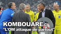 """Kombouaré : """"L'OM met une énorme pression"""""""