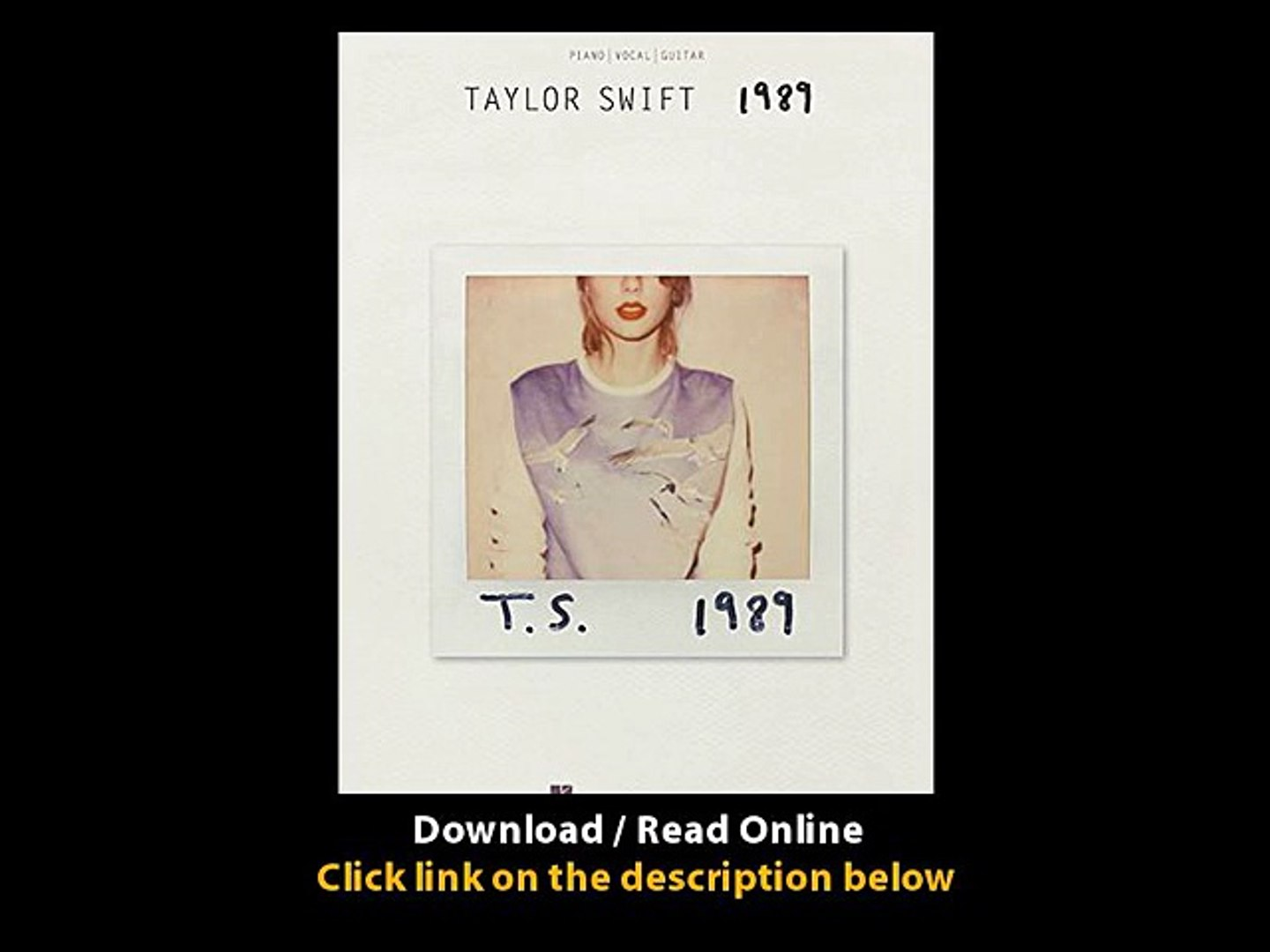 Download Taylor Swift By Taylor Swift PDF