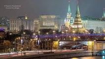 Москва 2014 Timelapse in Motion (Hyperlapse by Кирилл Неежмаков)